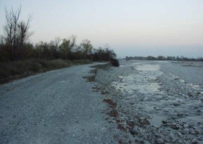 erosione spondale