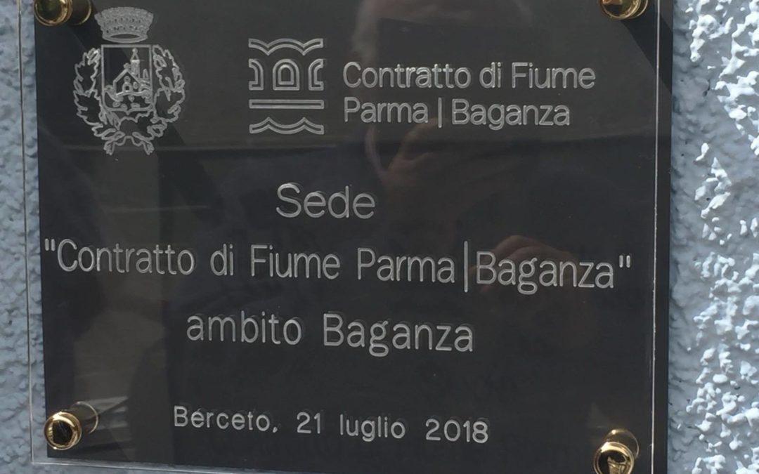 Partecipazione pubblica: Berceto 21 Luglio – Inaugurata  una sede del Contratto di fiume Parma-Baganza