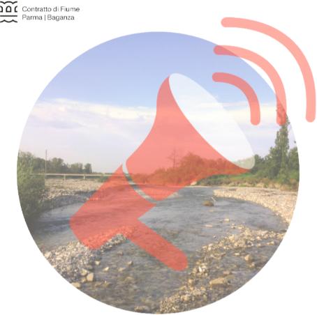 Felino –  mercoledì 3 Aprile 2019. Partecipazione Pubblica: Verso il contratto di Fiume Parma-Baganza